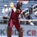EVIN LEWIS IS HOPEFUL OF WEST INDIES GETTING 'OVER THE LINE' IN WORLD CUP