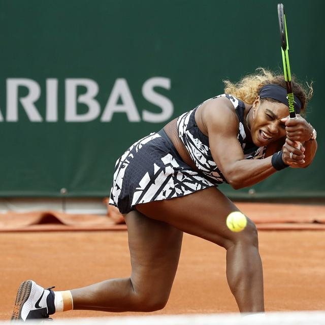 SERENA WILLIAMS RETURNS TO FRENCH OPEN MAKING ANOTHER FASHION STATEMENT