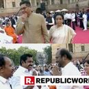WATCH |  LEGENDARY PLAYBACK SINGER ASHA BHOSLE, SUPERSTAR RAJINIKANTH AND OTHERS ARRIVE AT THE RASHTRAPATI BHAVAN FOR PM MODI'S SWEARING-IN CEREMONY