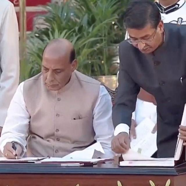 UNION DEFENCE MINISTER RAJNATH SINGH TO VISIT NATIONAL WAR MEMORIAL AHEAD OF TAKING CHARGE