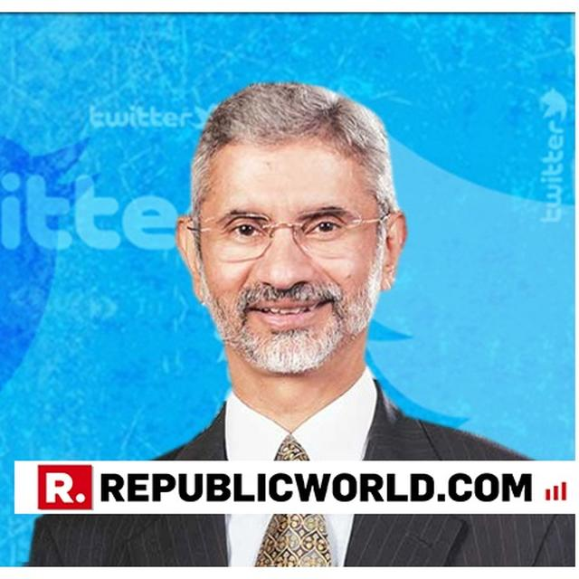 HERE'S NEWLY-APPOINTED MINISTER OF EXTERNAL AFFAIRS DR S JAISHANKAR'S FIRST TWEET