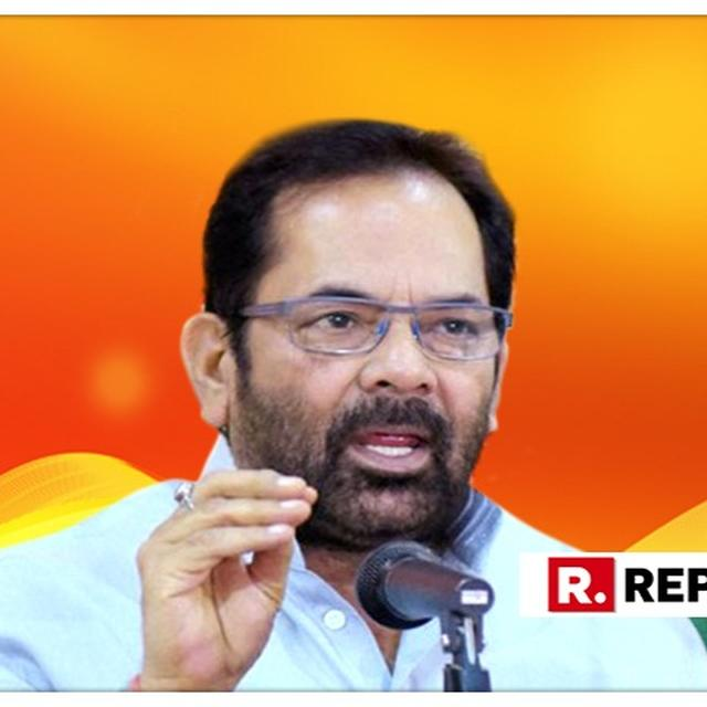 NAQVI HITS OUT AT OWAISI FOR COMMENTS ON PM MODI