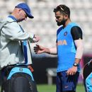 WORLD CUP 2019: CAUSE FOR CONCERN? SKIPPER VIRAT KOHLI SUFFERS INJURY DURING PRACTICE SESSION AHEAD OF INDIA'S OPENING CLASH AGAINST SOUTH AFRICA