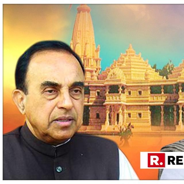 'DECLARE RAM SETU AS A NATIONAL MONUMENT AND COMMENCE BUILDING RAM TEMPLE' WRITES DR. SUBRAMANIAN SWAMY IN A LETTER TO PMO. READ IT HERE