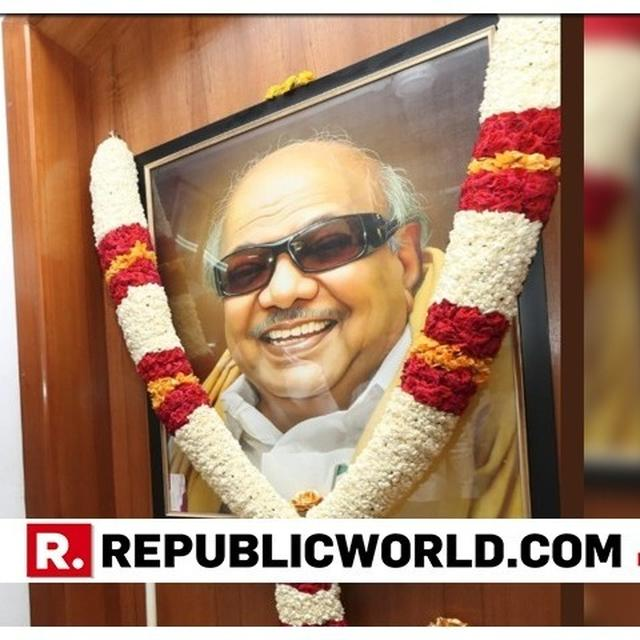 DMK CHIEF M K STALIN PAYS TRIBUTE TO PARTY PATRIARCH AND FATHER M KARUNANIDHI ON HIS 95TH BIRTH ANNIVERSARY, VOWING TO FULFILL KALAIGNAR'S VISION