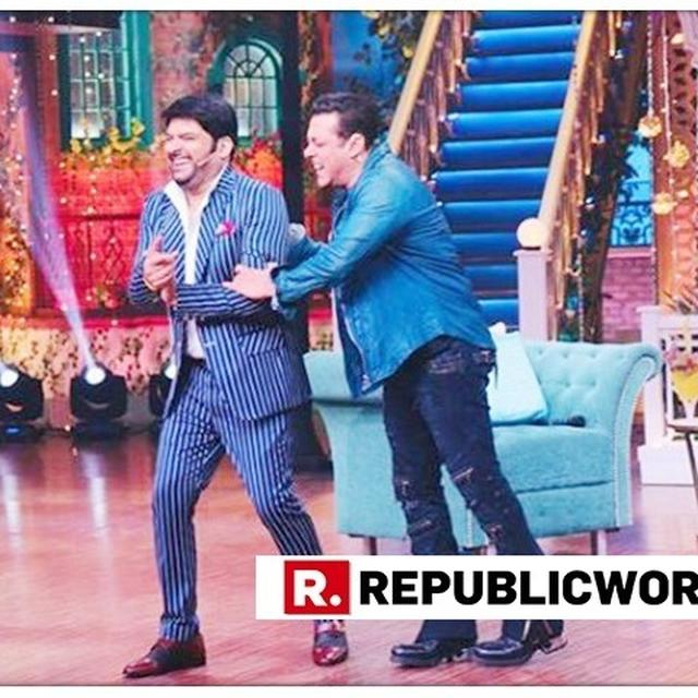 PRODUCER SALMAN KHAN ACCUSES KAPIL SHARMA OF INDULGING IN NEPOTISM AFTER COMEDIAN'S IN-SHOW REVELATION, THEN SAYS HE'S JOKING