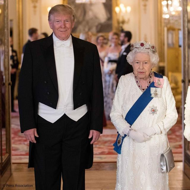 DID DONALD TRUMP BREAK ROYAL PROTOCOL BY TOUCHING THE QUEEN? HERE'S HOW SHE REACTED