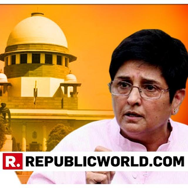 SUPREME COURT ISSUES NOTICE TO PUDUCHERRY CM V NARAYANASAMY OVER TUSSLE WITH KIRAN BEDI