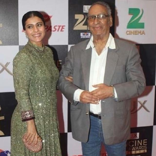 'IN HAPPIER TIMES...': KAJOL REMEMBERS LATE FATHER-IN-LAW VEERU DEVGAN WITH AN EMOTIONAL POST