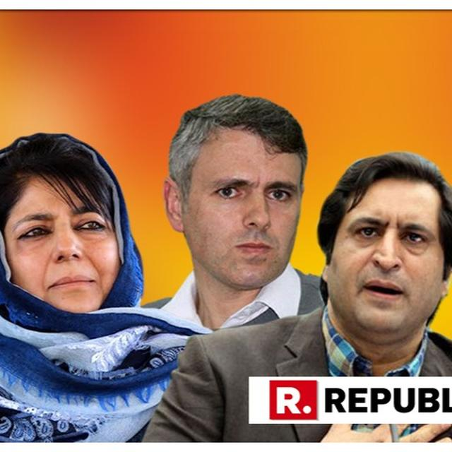 REGIONAL LEADERS OMAR ABDULLAH, MEHBOOBA MUFTI AND SAJAD LONE UP IN ARMS AT MENTION OF DELIMITATION PROCESS IN J&K