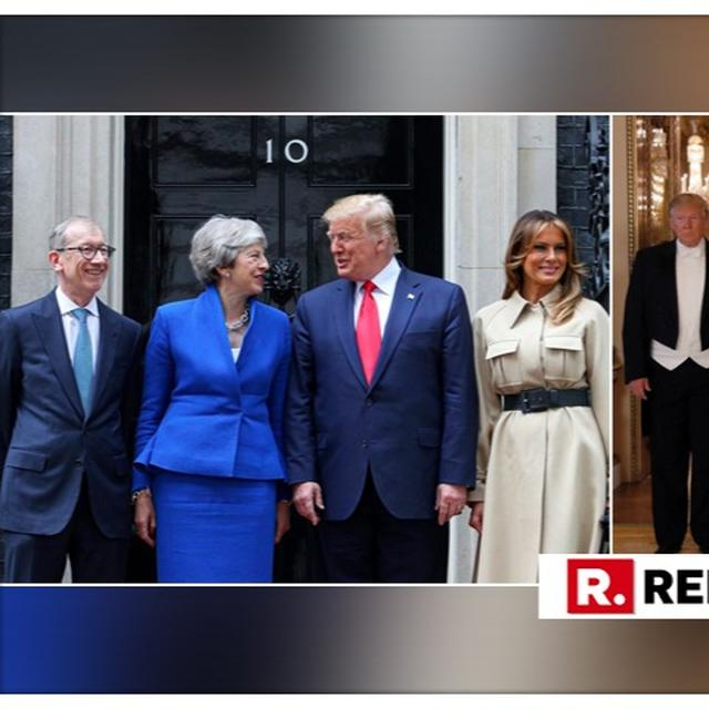 QUEEN, PM MAY CONVEY SUBTLE MESSAGES TO PREZ TRUMP ON NEED TO KEEP INTERNATIONAL INSTITUTIONS INTACT