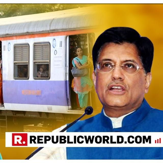 MAHARASHTRA STATE COMMISSION FOR WOMEN WRITES TO RAILWAY MINISTER PIYUSH GOYAL ASKING FOR RESERVATION 'ON PRIORITY FOR PREGNANT AND LACTATING MOTHERS ON MUMBAI LOCALS'