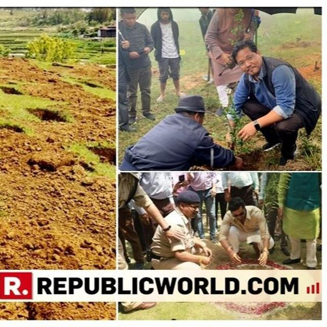 ONE MILLION SAPLINGS PLANTED IN MEGHALAYA ON ENVIRONMENT DAY