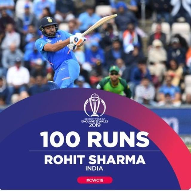 WORLD CUP 2019 | 'HITMAN ON FIRE', LAUD NETIZENS AS ROHIT SHARMA'S SPLENDID TON GIVES INDIA COMFORTABLE VICTORY AGAINST SOUTH AFRICA IN THEIR OPENER