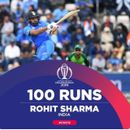 WORLD CUP 2019   'HITMAN ON FIRE', LAUD NETIZENS AS ROHIT SHARMA'S SPLENDID TON GIVES INDIA COMFORTABLE VICTORY AGAINST SOUTH AFRICA IN THEIR OPENER