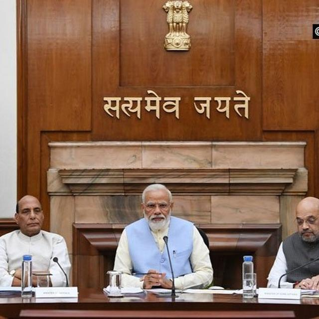 8 CABINET COMMITTEES CONSTITUTED: ALL MEMBERS LISTED