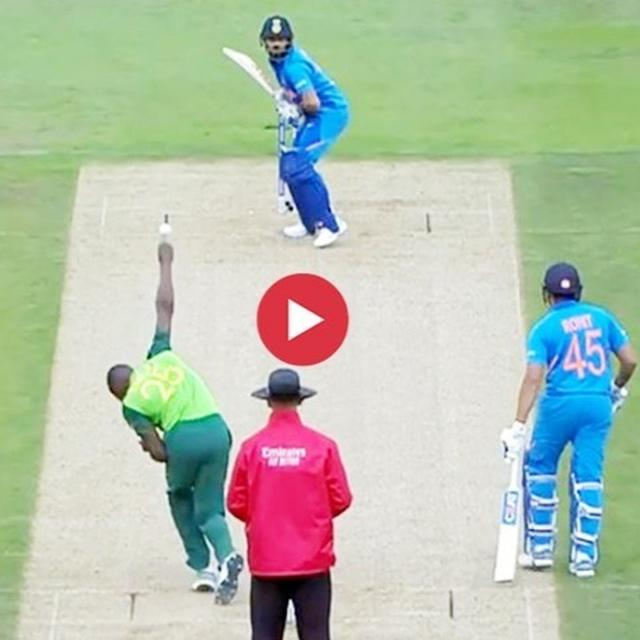 VIRAL: AMID WAR OF WORDS, KAGISO RABADA'S WELCOME DELIVERY FOR VIRAT KOHLI IN WORLD CUP 2019 WAS A NO-BRAINER