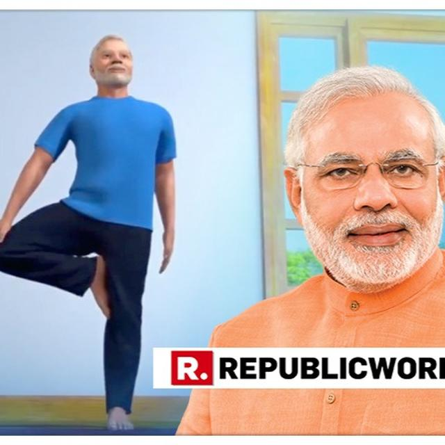 WATCH: PM MODI SHARES ANIMATED VIDEO DEMONSTRATING THE 'VRIKSHASANA' AHEAD OF YOGA DAY 2019, SHOWS ITS BENEFITS FOR BODY AND BRAIN