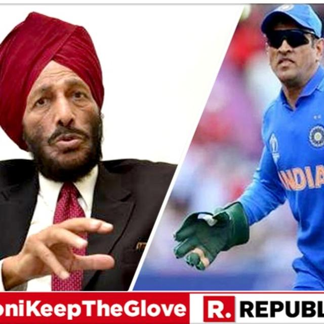 EXCLUSIVE: LEGEND MILKHA SINGH BACKS MS DHONI TO WEAR THE 'BALIDAAN BADGE' ON HIS GLOVE, SAYS 'IT'S A MATTER OF GREAT COURAGE'
