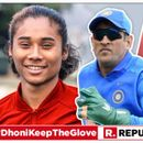 HERE'S WHAT OLYMPIAN HIMA DAS HAS TO SAY OVER MS DHONI'S 'BALIDAAN BADGE' GLOVES AMID NATION-WIDE CAMPAIGN