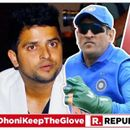 """""""IT SHOULD BE TAKEN AS AN ACT OF PATRIOTISM, NOT NATIONALISM,"""" SAYS SURESH RAINA BACKING MS DHONI'S 'BALIDAAN BADGE' GLOVES AMID NATION-WIDE CAMPAIGN"""