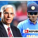 BCCI FALLS IN WITH ICC, GIVES UP ON MS DHONI'S 'BALIDAAN BADGE' GLOVE