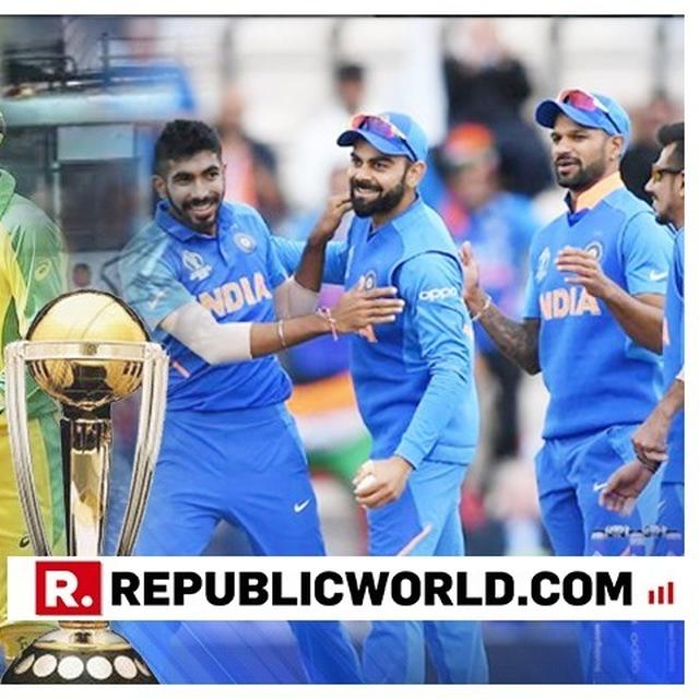 WORLD CUP 2019: INDIA VS AUSTRALIA, FAVOURITES VS DEFENDING CHAMPIONS- LIVE UPDATES