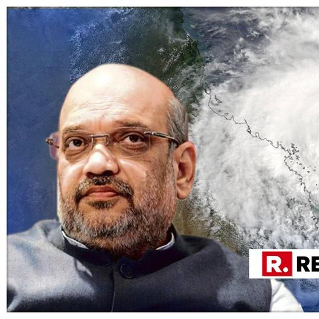 CYCLONE VAYU: AS IMD ISSUES WARNING, HOME MINISTRY TAKES STOCK OF STATES' PREPAREDNESS