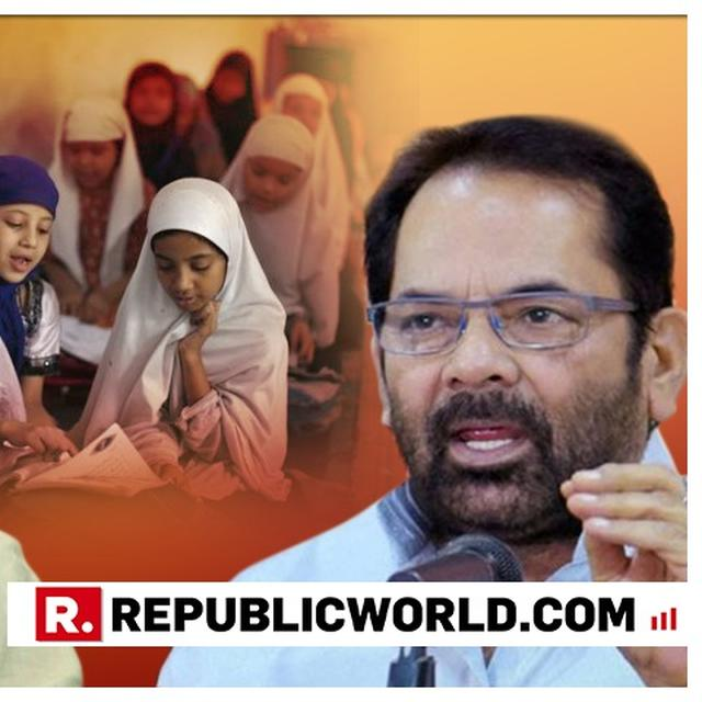 """WATCH: """"AIM TO BRING DROPOUT RATE AMONG SCHOOL GIRLS TO ZERO IN NEXT FIVE YEARS,"""" SAYS MUKHTAR ABBAS NAQVI ANNOUNCING PM MODI'S SCHOLARSHIP PROGRAM"""
