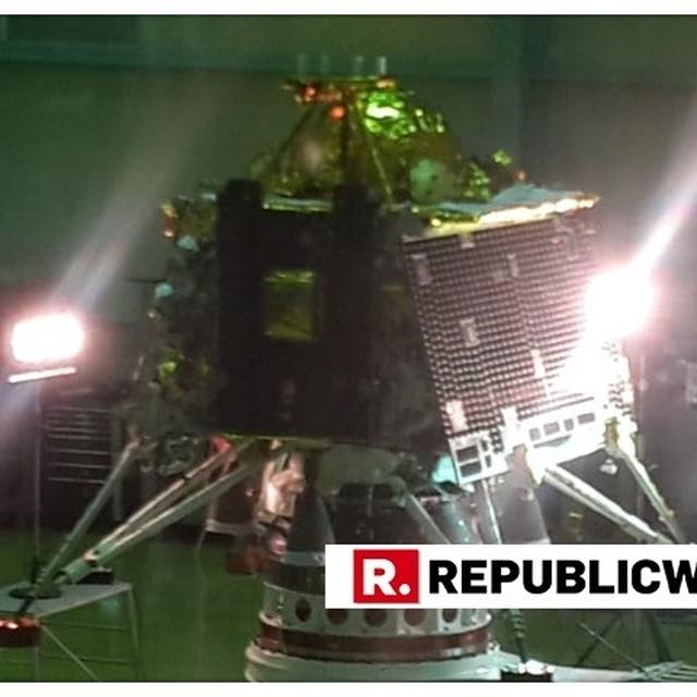 WATCH: ISRO RELEASES FIRST EVER VISUALS OF UPCOMING 'CHANDRAYAAN 2' MISSION'S MOON LANDER, SET FOR LAUNCH IN JULY