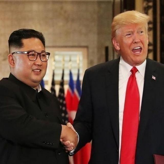 TRUMP RECEIVES 'BEAUTIFUL', 'WARM' LETTER FROM KIM