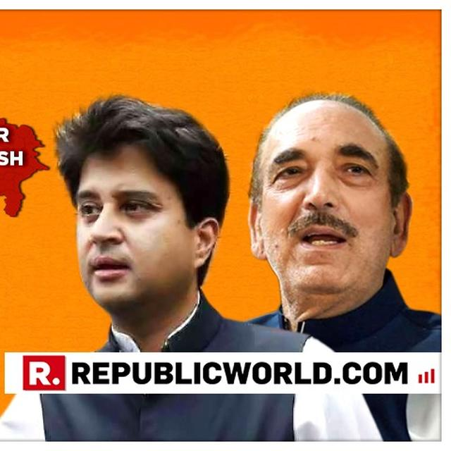 SCOOP: MASSIVE CONGRESS INFIGHTING OVER U.P POLL ROUT, MLA BLAMES PARTY HIGH COMMAND AT JYOTIRADITYA SCINDIA'S REVIEW, DEMANDS ACTION AGAINST GHULAM NABI AZAD