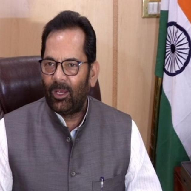 GOVT TO PROVIDE 100% FUNDING TO DEVELOP SCHOOLS, HOSPITALS ON WAQF PROPERTIES: NAQVI