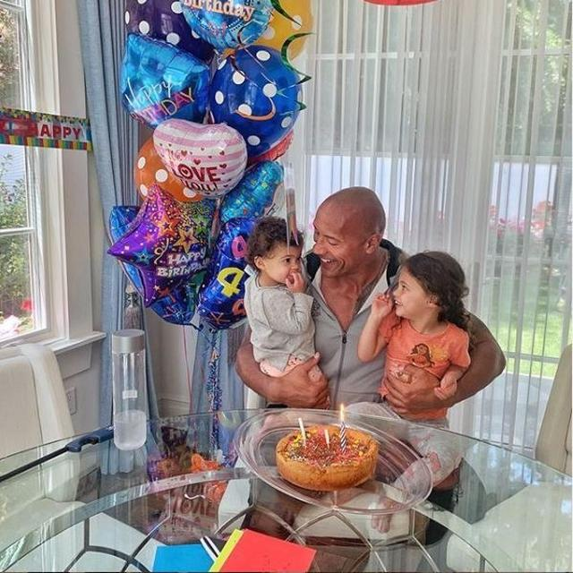 DWAYNE 'THE ROCK' JOHNSON CRITICISED OVER POST ON 3-YEAR-OLD DAUGHTER