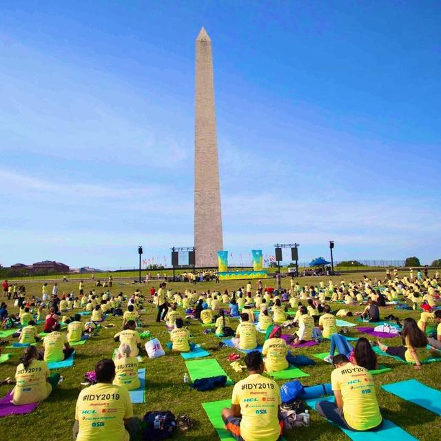 INTERNATIONAL YOGA DAY CELEBRATED IN THE US