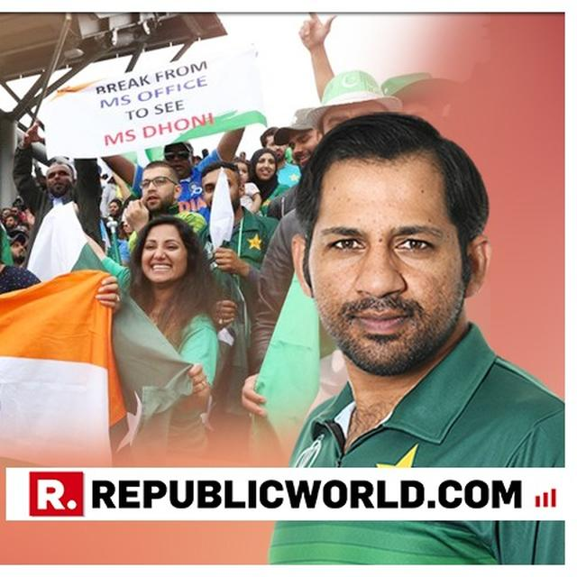 WE WERE A GOOD TEAM IN 90'S, NOW INDIA IS BETTER: SARFARAZ ON INDIA DEFEATING PAKISTAN AT WORLD CUP 2019