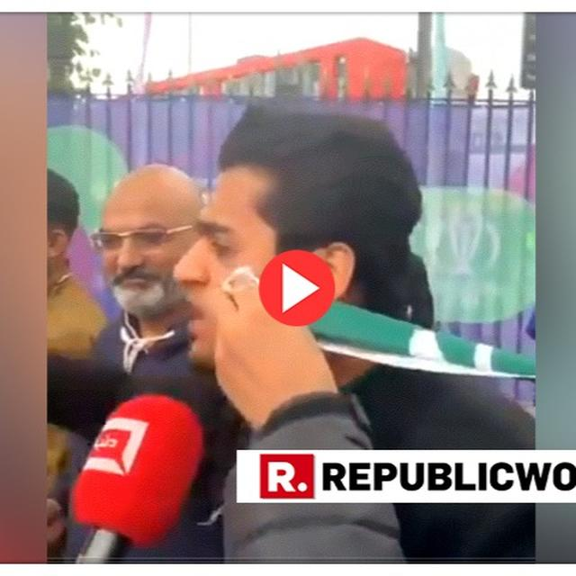 WATCH: DEJECTED PAKISTAN FAN CAN'T KEEP EMOTIONS IN CHECK AFTER HIS TEAM'S LOSS TO INDIA, TELLS THEM TO PLAY 'DANGAL' AS TEARS ROLL DOWN HIS FACE