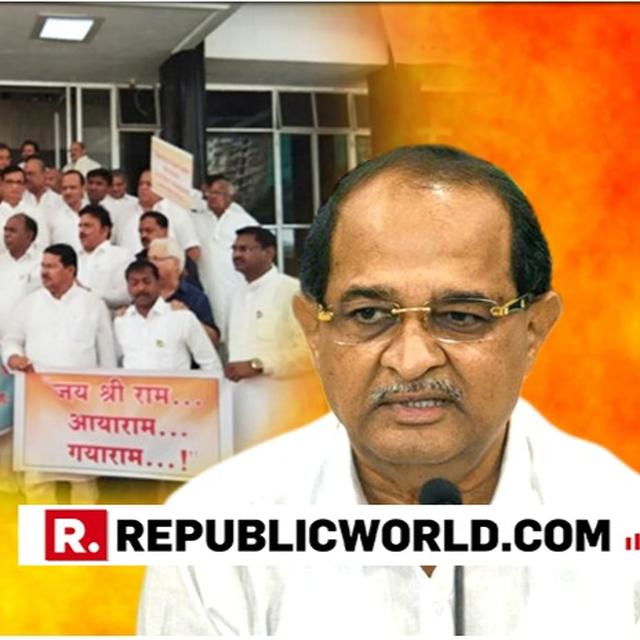 "WATCH: ""AAYA RAM-GAYA RAM, JAI SHRI RAM,"" CHANT OPPOSITION LEADERS AS NEWLY-INDUCTED MINISTER RADHAKRISHNA VIKHE PATIL ENTERS MAHARASHTRA ASSEMBLY"