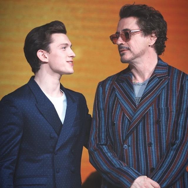 ROBERT DOWNEY JR AS SPECIAL TO ME AS TONY STARK IS TO PETER PARKER: TOM HOLLAND