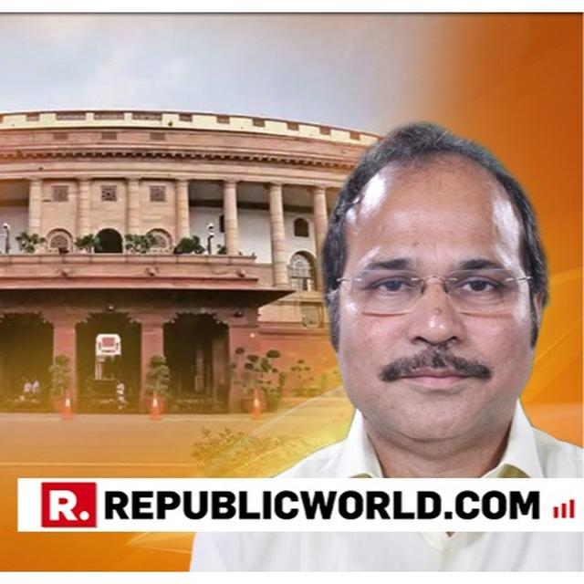 CONGRESS NAMES ITS SOLE WEST BENGAL MP ADHIR RANJAN CHOWDHURY AS ITS LEADER IN 17TH LOK SABHA AMID RAHUL GANDHI'S UNWILLINGNESS