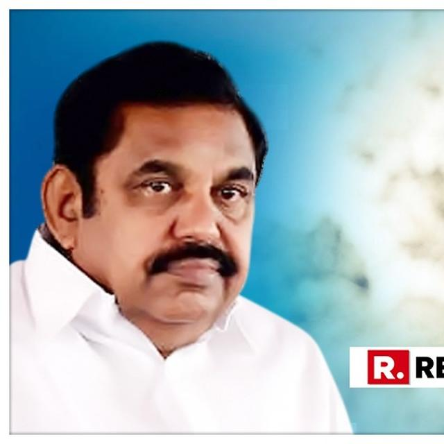 TN CM EDAPPADI K. PALANISWAMIDOWNPLAYS WATER CRISIS ISSUEPREVALENT IN THE STATE, SAYS 'WATER SCARCITY REPORTS ARE BLOWN OUT OF PROPORTION BY MEDIA'