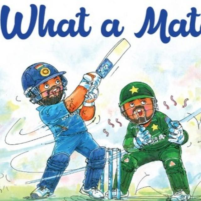 FIND OUT WHY AMUL'S DOODLE ON THE INDIA- PAKISTAN MATCH IS MAKING NETIZENS LAUGH