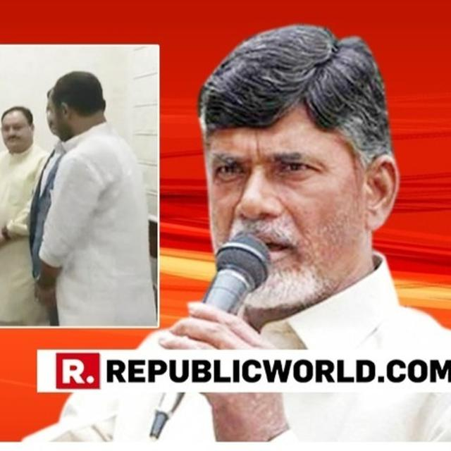 'TDP MPS JOINING BJP DUE TO MY FIGHT FOR ANDHRA'S RIGHTS,' SAYS CHANDRABABU NAIDU, WITH A MESSAGE FOR THOSE WRITING OFF HIS PARTY
