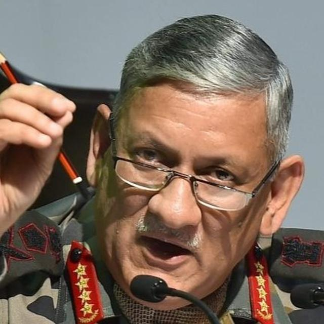 TROOPS FULLY PREPARED FOR EMERGING SECURITY CHALLENGES: ARMY CHIEF