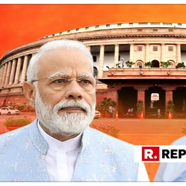 SHOCKING: CONGRESS INSULTS PM MODI IN PARLIAMENT, COMPARES HIM TO 'GANDI NAALI' DURING MOTION OF THANKS TO THE PRESIDENT