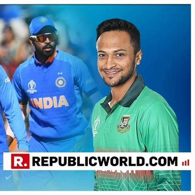 WORLD CUP 2019 | ALL-ROUNDER SHAKIB AL HASAN SAYS THAT BANGLADESH ARE CAPABLE ENOUGH TO BEAT INDIA