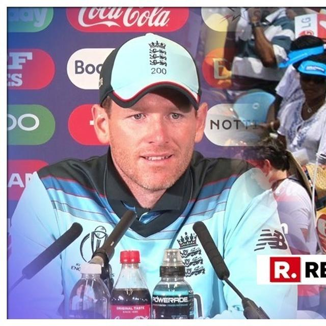 WORLD CUP 2019 | BLUNT EOIN MORGAN ADMITS THAT HE WON'T STOP SPECTATORS FROM HECKLING STEVE SMITH AND DAVID WARNER