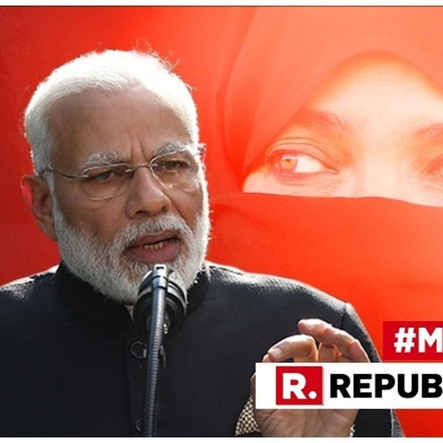 WATCH: IN HIS ADDRESS IN THE LOK SABHA, PM MODI ALLEGES CONGRESS DID NOT WANT MUSLIMS TO BE UPLIFTED, REMINDS THEM OF 1980S 'GUTTER' INSULT