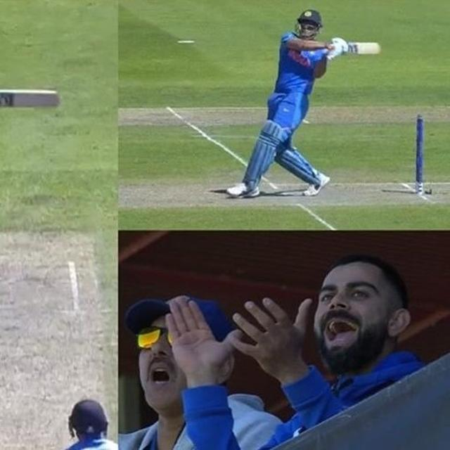 WORLD CUP 2019: FROM CO-INCIDENTAL ADVERTISEMENT PLACEMENT TO CAPTAIN VIRAT KOHLI'S ANIMATED REACTION, MS DHONI'S LAST-OVER FLOURISH AGAINST WEST INDIES WAS A RAGE ON TWITTER