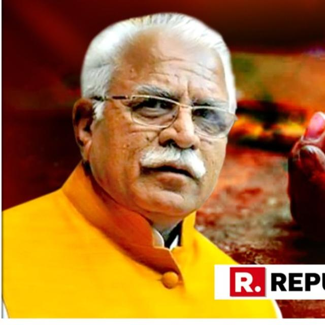 "SHOCKING: HARYANA CM MANOHAR LAL KHATTAR SAYS ""VICTIM'S BAD CHARACTER ALSO SHOULD BE CONSIDERED."""
